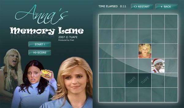 Anna's Memory Lane