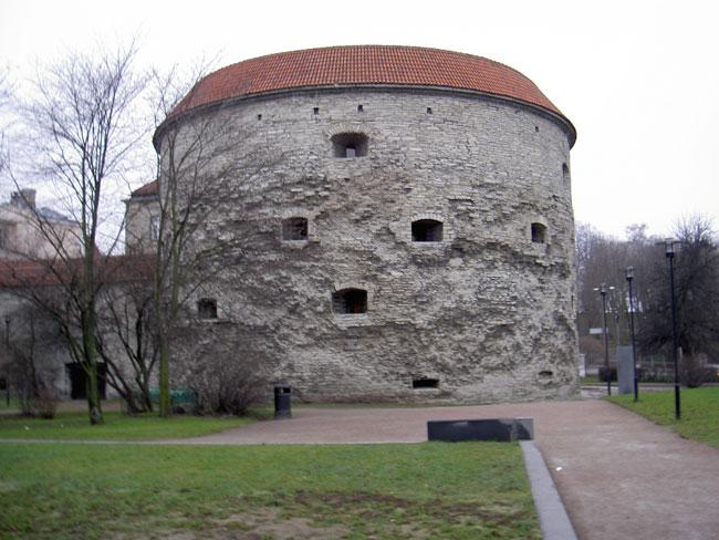 Таллин: башня Маргарита