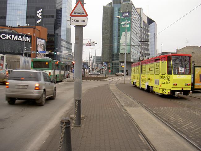 Трамвай в Таллине